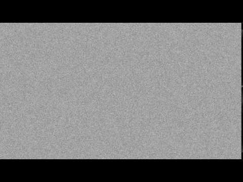 TV static blank screen with white noise in 4K (60 fps)
