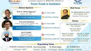 A Webinar on Future of Indian Universities