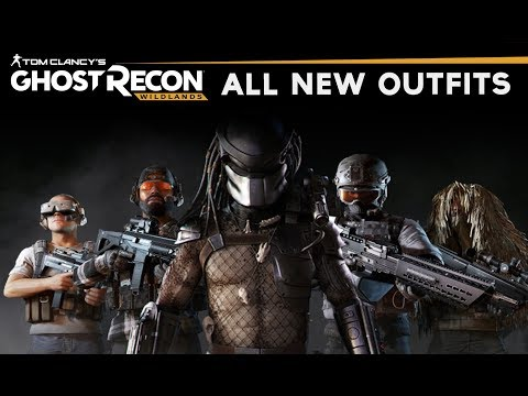 Ghost Recon Wildlands - All New Outfits (All Post Launch DLC Content) SHOWCASE