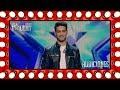 Este mago plasma sus canciones favoritas en las cartas | Audiciones 6 | Got Talent España 2018
