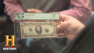 Pawn Stars: 1974 Misprinted $30 Bill (season 14) | History