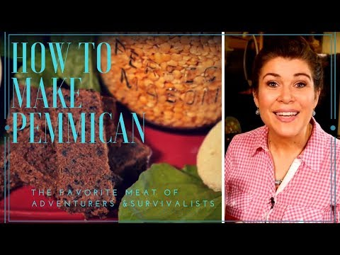 How To Make Pemmican - The Favorite Portable Meat of Survivalists and Adventurers
