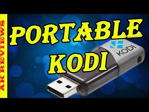 How to Install XBMC KODI on a USB Flash Drive (Portable Kodi 16)