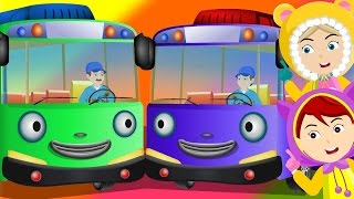Wheels On The Bus | New Version | Rhymes by KiddieTV ©