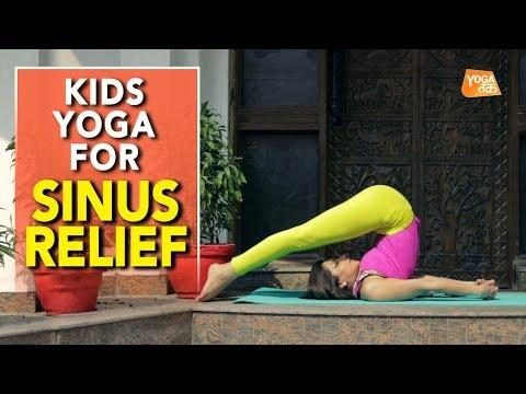 Kids Yoga | Yoga To Relief Sinus | Plough Pose | Yoga Tak