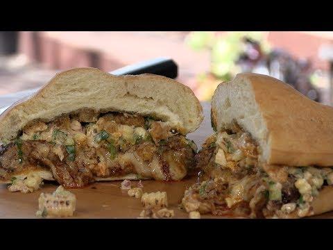 Juicy Lucia Mexican Cheeseburger Recipe!