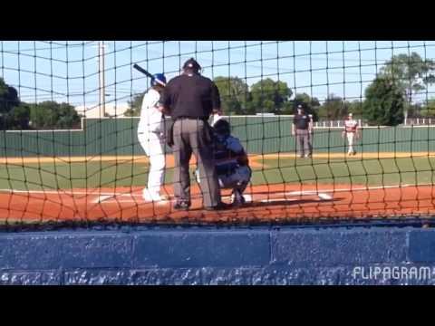 13u Blaze Jordan 350ft hit in 18u wood bat game