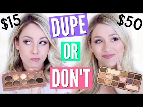 PINTEREST MAKEUP DUPES TESTED! | DUPE OR DON'T