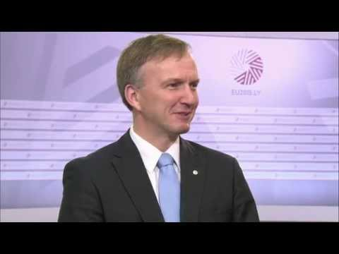 Doorstep by Andrejs Pildegovičs ahead of Meeting of EU and Central Asian Ministers for Education