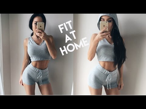 HOW I GOT FIT AT HOME | Coco Lili