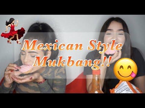 Mexican Mukbang Eating Show!  Co-Starring Ana Navarro