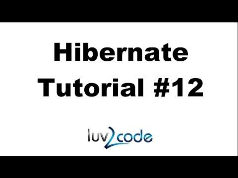 Hibernate Tutorial #12 - Hibernate Annotations - Part 2