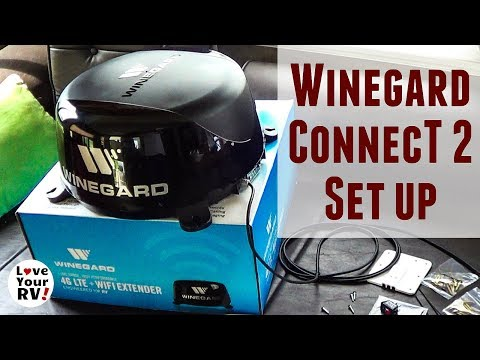 Setting Up My New Winegard ConnecT 2.0 (WiFi & 4G LTE Extender for RVs)