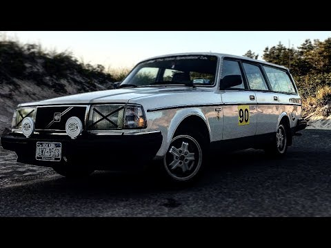Volvo 240 IPD High flow Exhaust Sound *Best Example*