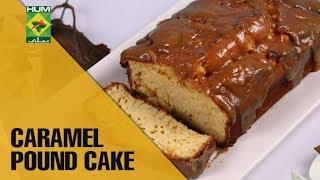 Delicious Caramel Pound Cake | Evening With Shireen | Masala TV Show | Shireen Anwar