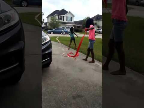 Ribbon Wand video