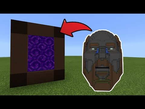 How To Make a Portal to the Temple of Notch Dimension in MCPE (Minecraft PE)
