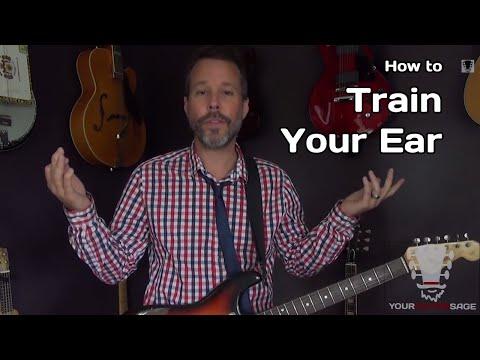 How To Train Your Ear - Guitar Chord Ear Training Secret