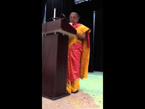 Agnes Dsouza - Retirement Speech in Kannada