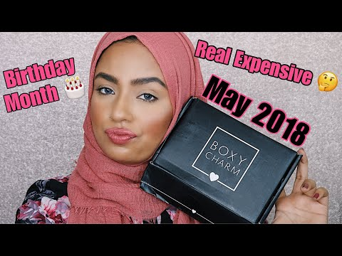 May 2018 BOXYCHARM Unboxing & Swatches / First Impressions