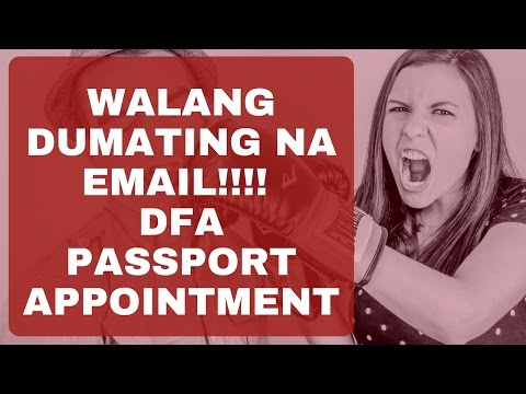 Email address complaints DFA Passport Appointment 2016
