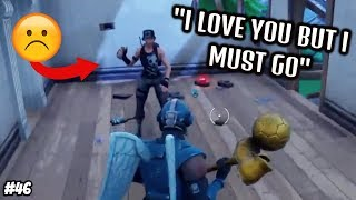 Saddest Moments in Fortnite #46 (TRY NOT TO CRY)