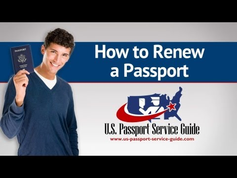 How to Renew a Passport