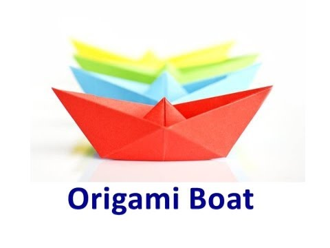 How to make an Origami Boat Video