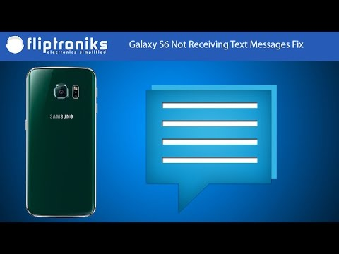 Galaxy S6 Not Receiving Text Messages Fix - Fliptroniks.com