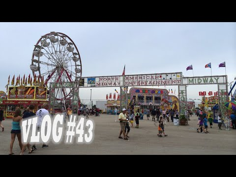 Illinois State Fair 2014, Giant Slide, Bumper Cars & MORE With My Son! (Vlog #43)