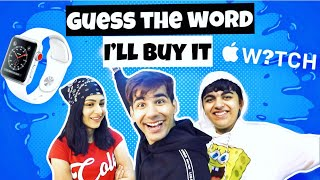 GUESS THE WORD AND I'LL BUY IT Challenge | Rimorav Vlogs