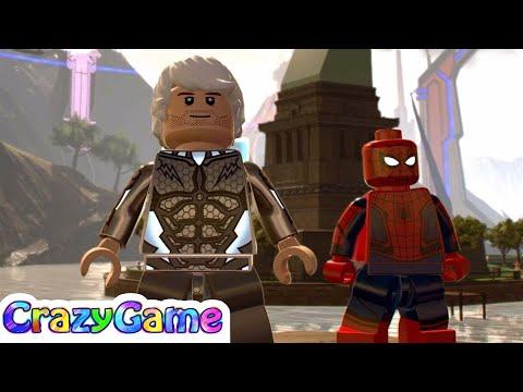 LEGO Marvel Super Heroes 2 How to Make Speedster (Quicksliver)