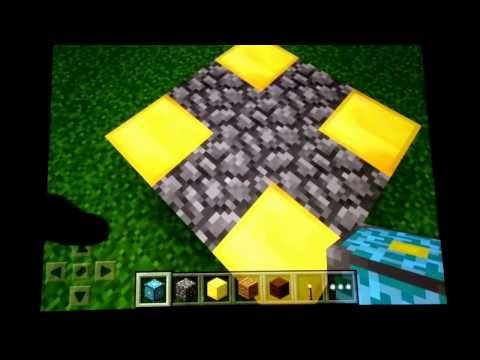 Pocket Edition Guide: How to create the Nether Portal on Minecraft Pocket Edition.