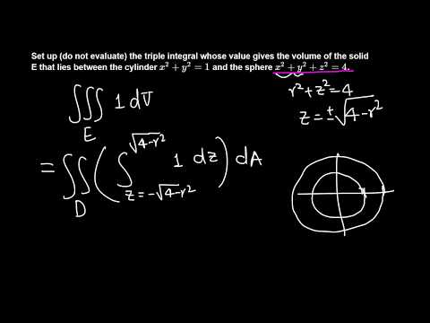 Calc III: Triple Integrals in Cylindrical Coordinates example 6/6
