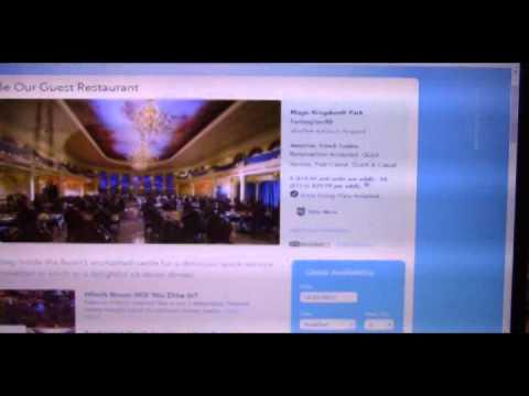 Vlog #40: Disney Planning #15 - Dining Reservations on the Website