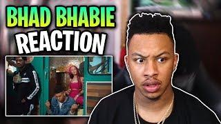 "BHAD BHABIE ""Get Like Me"" feat. NLE Choppa Reaction Video"