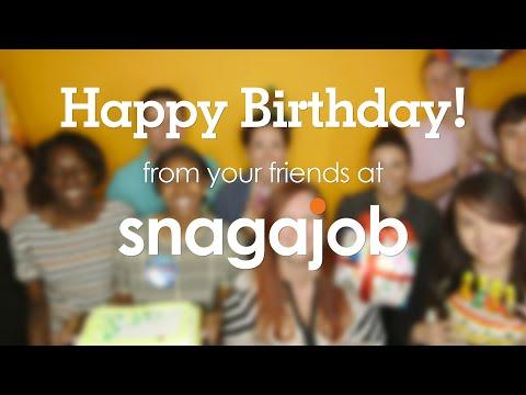 Happy Birthday from Snagajob