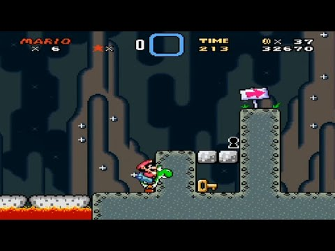 Super Mario World - All Secret Exit Locations
