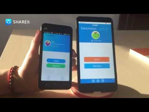 [SHAREit Tutorial] How to transfer files from Windows Phone to Android?