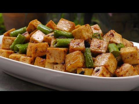 Chinese Tofu in Black Bean Sauce   Vegan Vegetarian Recipe