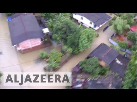 Sri Lanka: Air force steps in to help rescue flood victims as toll rises