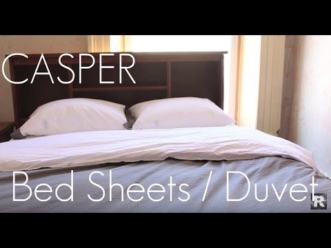 It Ain't all About Thread Count! - Casper Bed Sheets & Duvet Cover -  Review