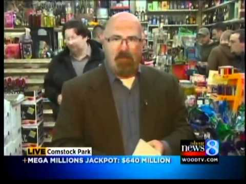 Going to luckiest store to buy $640 Million lottery ticket