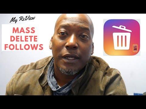How to delete followers on Instagram - Mass Delete App Review for Instagram