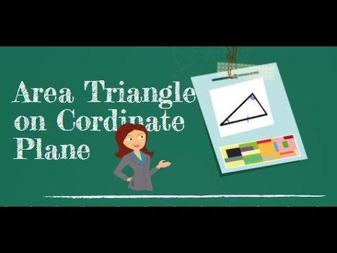 Area of a Triangle on a coordinate plane