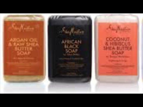 Use A Shea Moisture Soap Bar As A Shampoo Bar Alternative/ DIY Banana Hair Masque/ Product Review