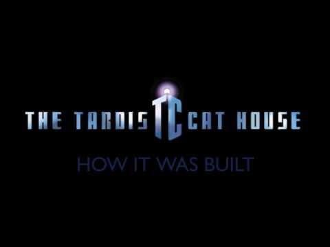 How I Built the Tardis Cat House