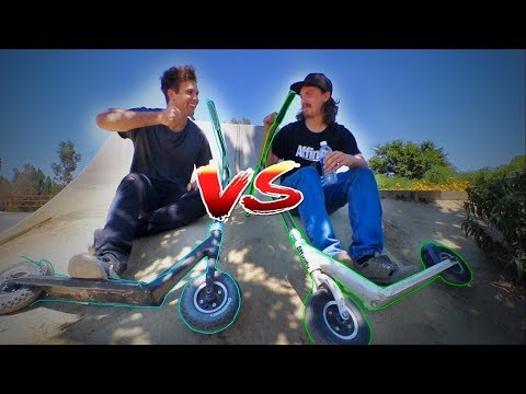 GAME OF SCOOT WITH RAZOR DIRT SCOOTER