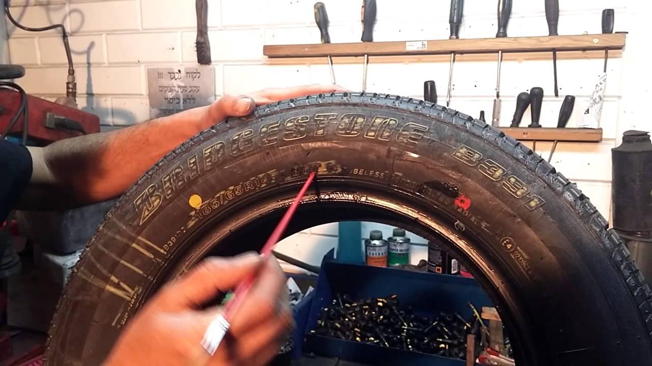מתי פג תוקף הצמיגים המקוריים ברכב, הסבר בזמן רכישת צמיגים