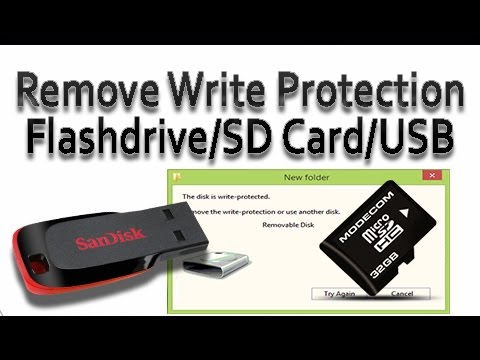 Remove Write protection on USB Drive 2018 | Diskpart has encountered an Error
